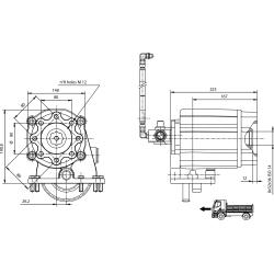 Prese di forza - PZB - 4291A810P62 PTO LAT. ALLISON MD - HD