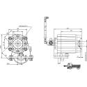 Prese di forza - PZB - 4291B752P62 PTO LAT. ALLISON MD - HD