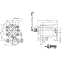 Prese di forza - PZB - 4291E712P62 PTO LAT. ALLISON MD - HD