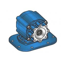 Prese di forza - PZB - 4291M111P62 PTO CON FRIZIONE SAE 8F - 600 Nm