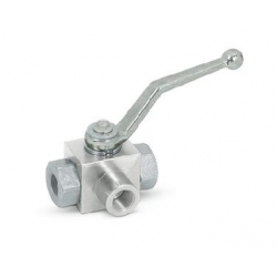 Ball valve 3-way high pressure