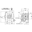 Prese di forza - PZB - 4279F233P42 PTO LAT. L. D. MITSUBISHI MO35S5 CAST IRON