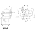 Power take-offs - PZB - 32835111P42 PTO LAT. 3F NISSAN MPS 62T