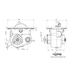 Power take-offs - PZB - 42FT1112P42 PTO LAT. L. D. FTS/ET