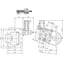 Power take-offs - PZB - 32856233P42 PTO LAT. L. D. NISSAN M5-35