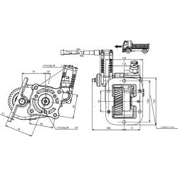 Power take-offs - PZB - 32985673P42PTO LAT. L. D. Z.F S5-270
