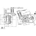Prese di forza - PZB - 3298A23DP43 PTO LAT. L. S. IVECO 2840.6