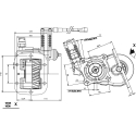 Power take-offs - PZB - 3298A695P42PTO LAT. L. S. IVECO 2840.6