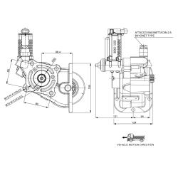 Power take-offs - PZB - 3298C693P82 PRESA DI FORZA PER Z.F. EL55 - 5,07