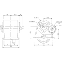 Power take-offs - PZB - 32154110377 PTO LAT. SAE 6F ATT. 3F EATON-FULLER-IVECO-NISSAN-TURNER