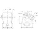 Power take-offs - PZB - 32155110377 PTO LAT. SAE 6F ATT. 3F EATON-FULLER-IVECO-NISSAN-TURNER