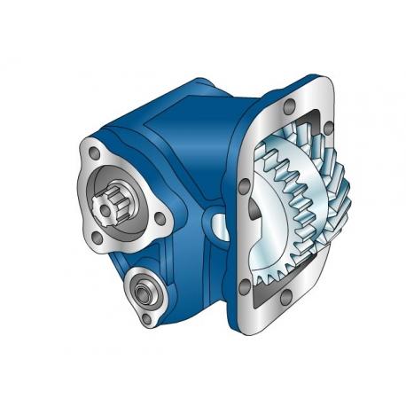Power take-offs - PZB - 32663110P41 PTO LAT. ATT. 3F RENAULT B6-69 - B6-85 (G406)
