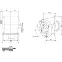 Power take-offs - PZB - 32813110P42 PTO LAT. MITSUBISHI M8S2x5 - M8S5 - M8S6 - M10S5