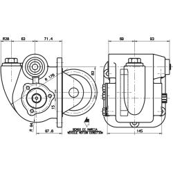 Power take-offs - PZB - 32221111377  PTO /  Serie 2S