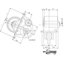 Power take-offs - PZB - 32682110F02  PTO /  Serie 2Z