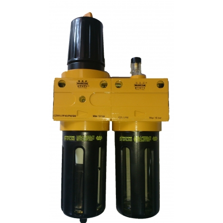 Filter regulator / lubricator G 1""