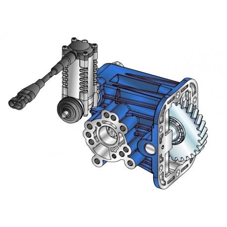 Power take-offs - PZB - 42405234PM2 PTO LATERALE L.D. PER CAMBI ZF S5-200 IVECO 2830.5