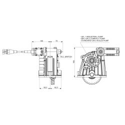 Power take-offs - PZB - 42406514PM2 PTO LATERALE L.D. PER CAMBI ZF S6-300 IVECO 2832.6
