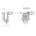 Prese di forza - PZB - 42411514PM2 PTO LATERALE L.D. PER CAMBIO IVECO 2835.6