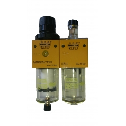 Filter regulator / lubricator G 1/4""