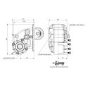 Power take-offs - PZB - 42804117P62 PTO /  Serie 4E