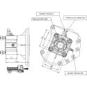 Power take-offs - PZB - 320M111AP82 PTO POS. H. D. MERCEDES G240(ACTROS)