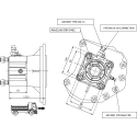 Prese di forza - PZB - 320M111AP82 PTO POS. H. D. MERCEDES G240(ACTROS)