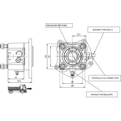 Power take-offs - PZB - 320M5110P82 PTO POS. H. D. MERCEDES G3/36