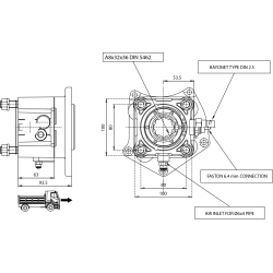 Power take-offs - PZB - 320M5115P82 PTO POS. H. D. MERCEDES G3/36