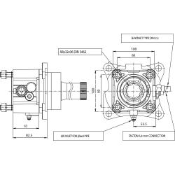 Power take-offs - PZB - 320V7110P82 PTO POS. H. D. VOLVO VT+RETARDER