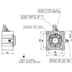 Power take-offs - PZB - 320Z2115P82 PTO POS. H. D. Z.F. 6.36