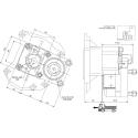 Prese di forza - PZB - 422M1120F02 PTO POS. L. D. MERCEDES G240 (ACTROS)