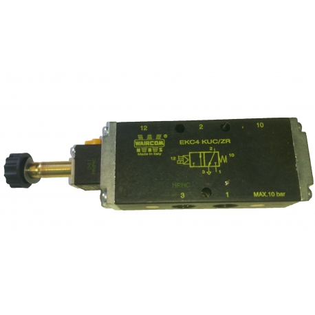 Spool valves pilot and solenoid actuated G 1/4-5 PORT