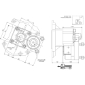 Prese di forza - PZB - 422M112AP82 PTO POS. L. D. MERCEDES G240 (ACTROS)