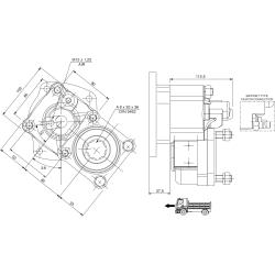 Power take-offs - PZB - 422V4120P42 PTO POS. L. D. VOLVO R 5