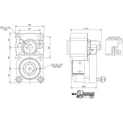 Prese di forza - PZB - 422Z2120F02 PTO POS. L. D. Z.F 5.35 - 6.36