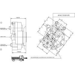Power take-offs - PZB - 323M2110877 PTO POS. L. D. D.U. MERCEDES G4