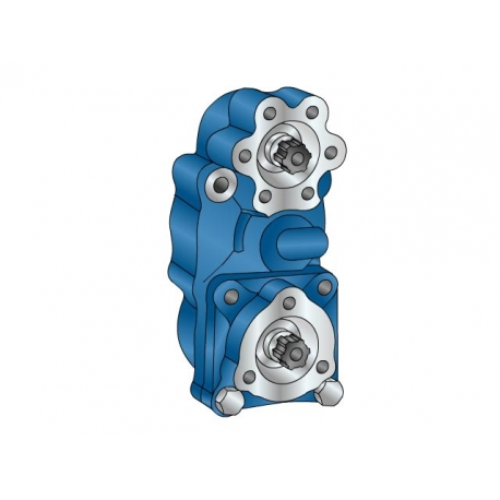Power take-offs - PZB - 323W1110877 PTO POS. L. D. D.U. VOLKSWAGEN 007.1
