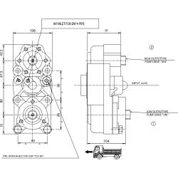 Power take-offs - PZB - 323Z1110878 PTO POS. L. D. D.U. Z.F 6.80 - 16S221