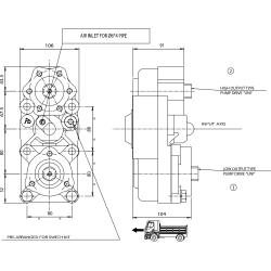 Prese di forza - PZB - 323Z2110877 PTO POS. L. D. D.U. Z.F 5.35 - 6.36