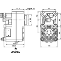 Power take-offs - PZB - 424Z3125P62 PTO POS. H. D. Z.F 6.80 - 16S221