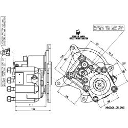 Power take-offs - PZB - 426M5110P62 PTO POS. M. D. MERCEDES G4