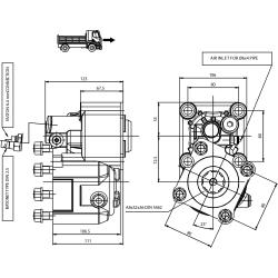 Prese di forza - PZB - 426Z7110P62 PTO POS. M. D. Z.F 5.35 - 6.36