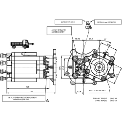 Prese di forza - PZB - 427MG810P62 PTO POS. M. D. MERCEDES G56-6