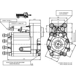 Power take-offs - PZB - 427Z2110P62 PTO POS. M. D. Z.F 6.80 - 16S221