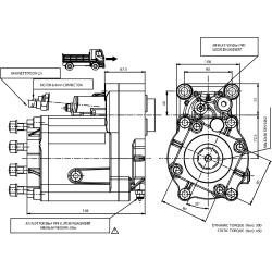 Power take-offs - PZB - 427Z3110P62 PTO POS. M. D. Z.F 6.80 - 16S221