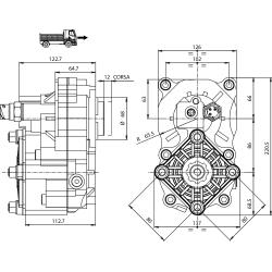 Prese di forza - PZB - 429Z1115F62 PTO POS. Z.F. 6S-800