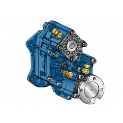 Power take-offs - PZB - 421MA115831 PTO POS. H.D. MERCEDES G240 (ACTROS)