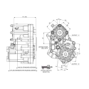 Power take-offs - PZB - 421MB115W11 PTO POS. H.D. MERCEDES G240 (ACTROS)