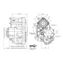 Power take-offs - PZB - 421MC115860 PTO POS. H.D. MERCEDES G240 (ACTROS)